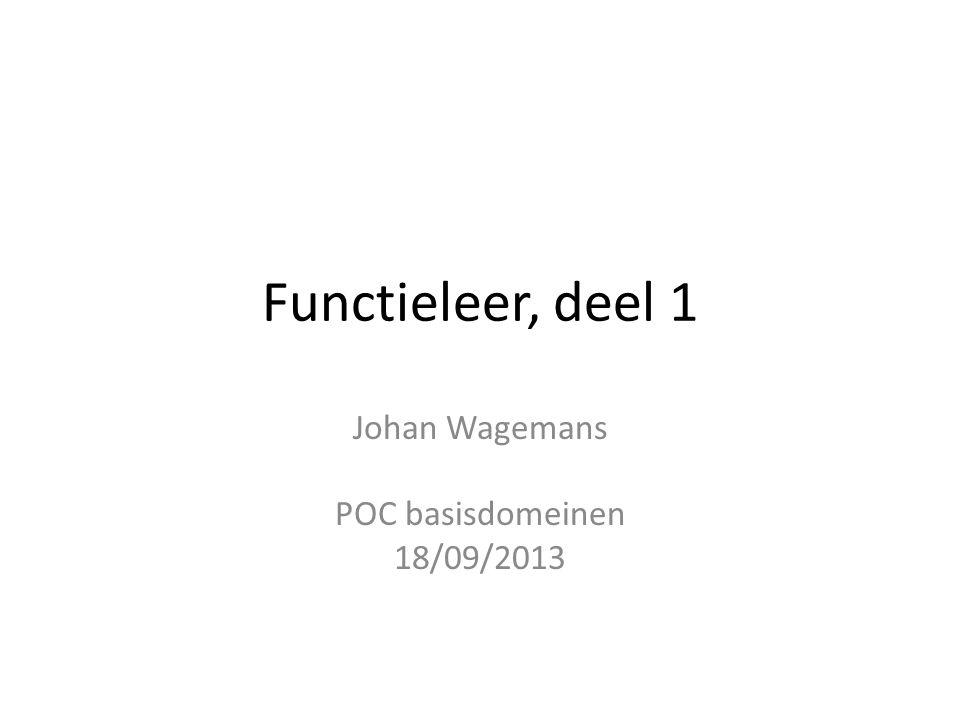 Johan Wagemans POC basisdomeinen 18/09/2013