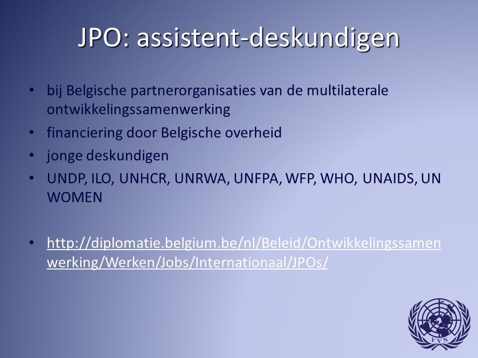 JPO: assistent-deskundigen