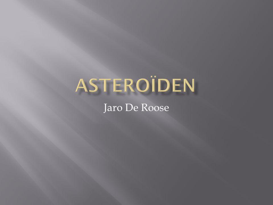 Asteroïden Jaro De Roose