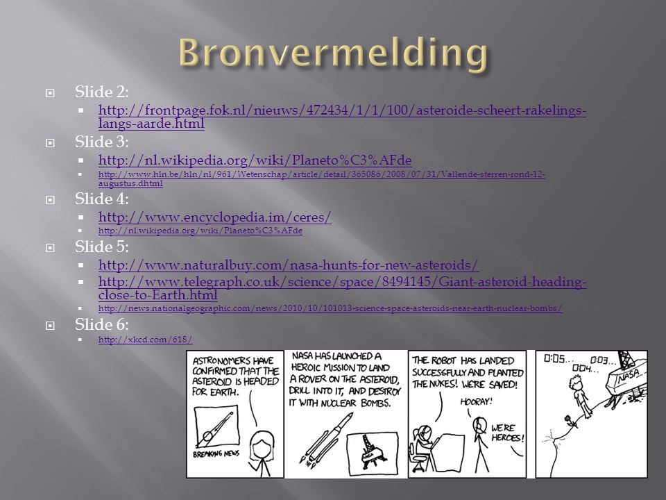 Bronvermelding Slide 2: Slide 3: Slide 4: Slide 5: Slide 6: