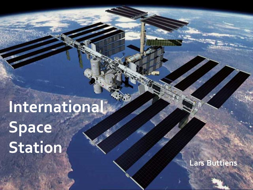 International Space Station Lars Buttiens