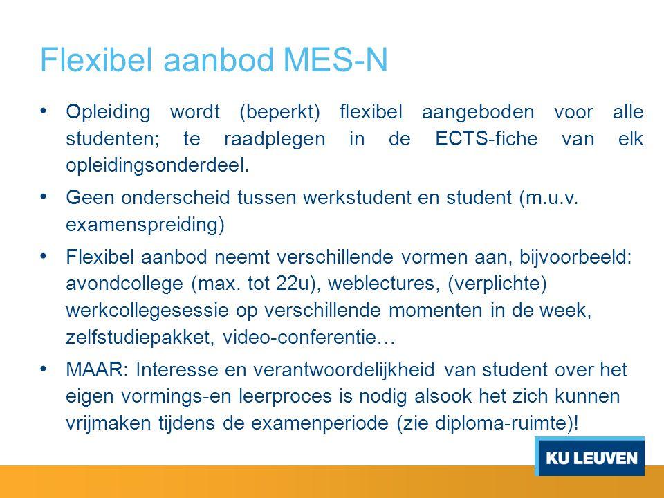 Flexibel aanbod MES-N