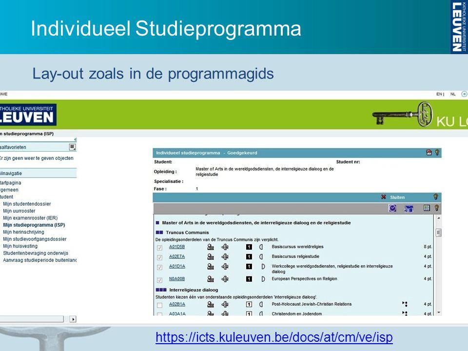 Individueel Studieprogramma