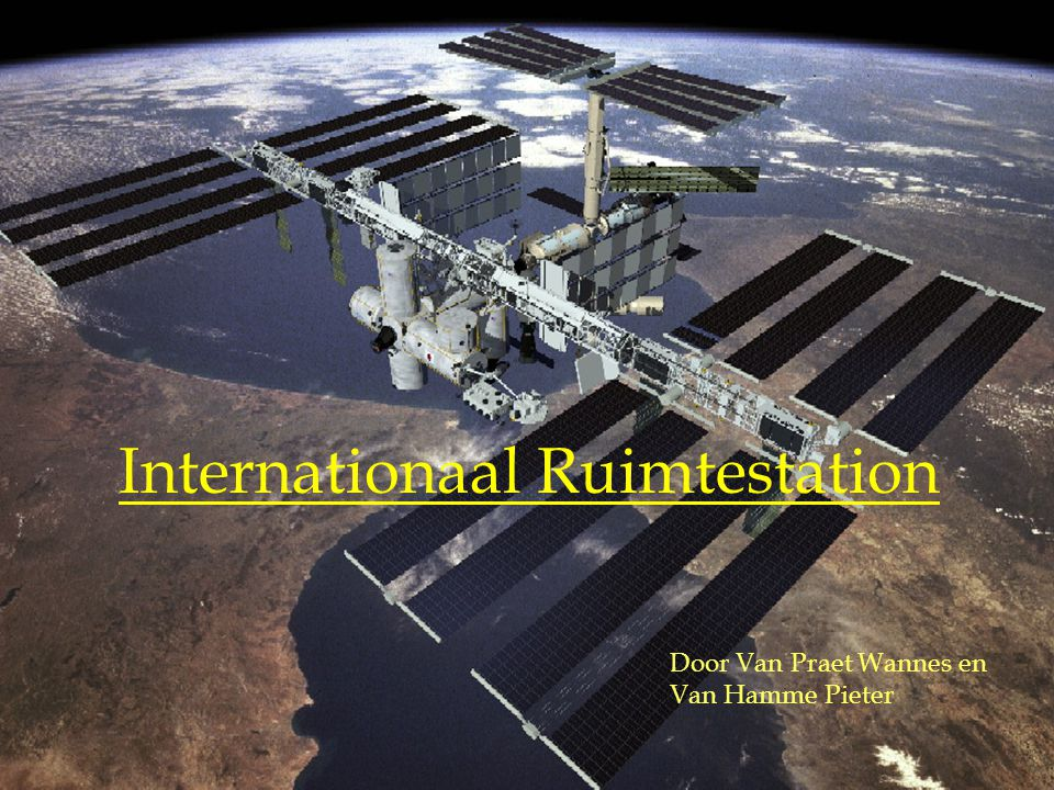 Internationaal Ruimtestation