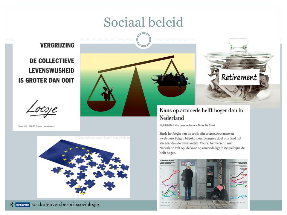 Sociaal beleid Sociologen onderzoeken het effect van de beslissingen van de regering op de samenleving.