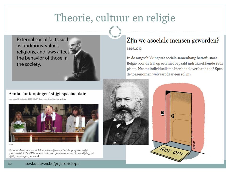 Theorie, cultuur en religie