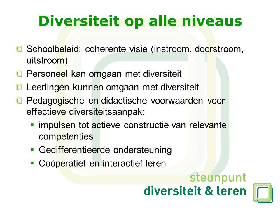 Diversiteit op alle niveaus