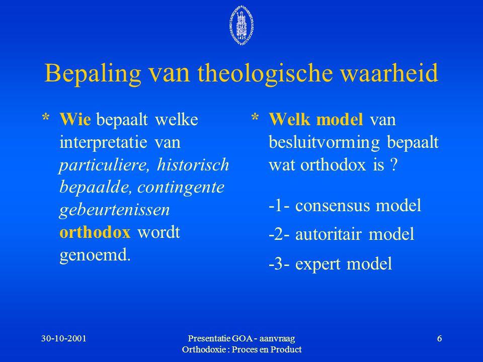 Bepaling van theologische waarheid
