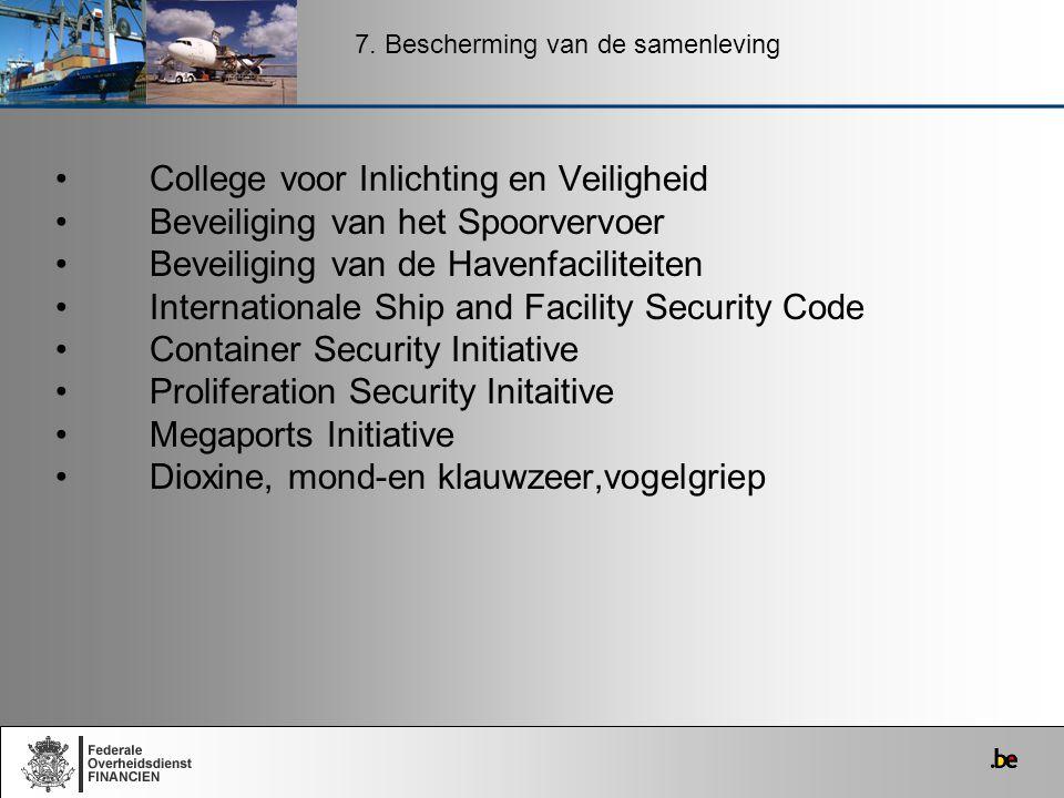 College voor Inlichting en Veiligheid Beveiliging van het Spoorvervoer