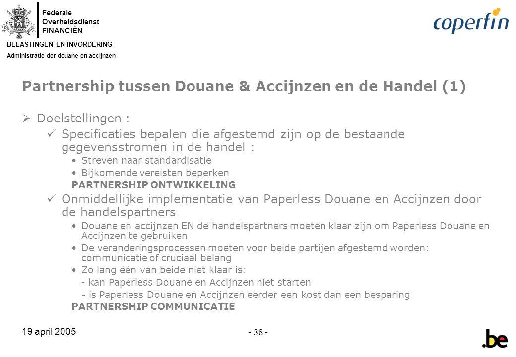 Partnership tussen Douane & Accijnzen en de Handel (1)
