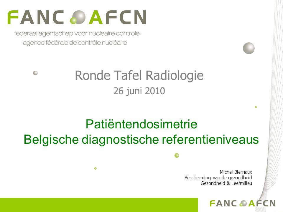 Ronde Tafel Radiologie 26 juni 2010