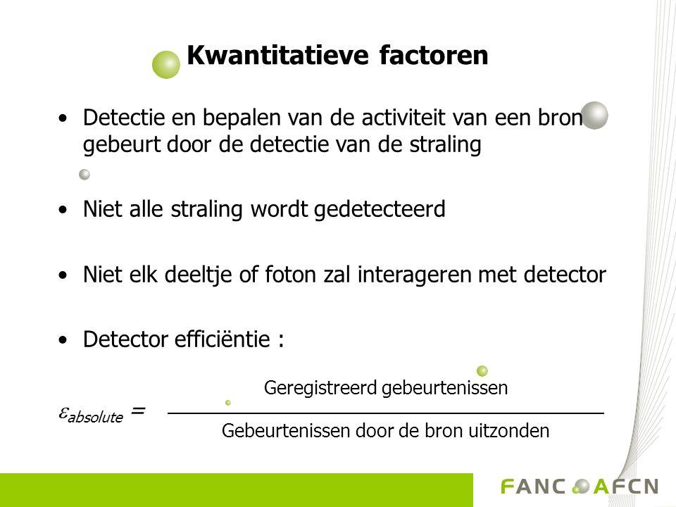 Kwantitatieve factoren