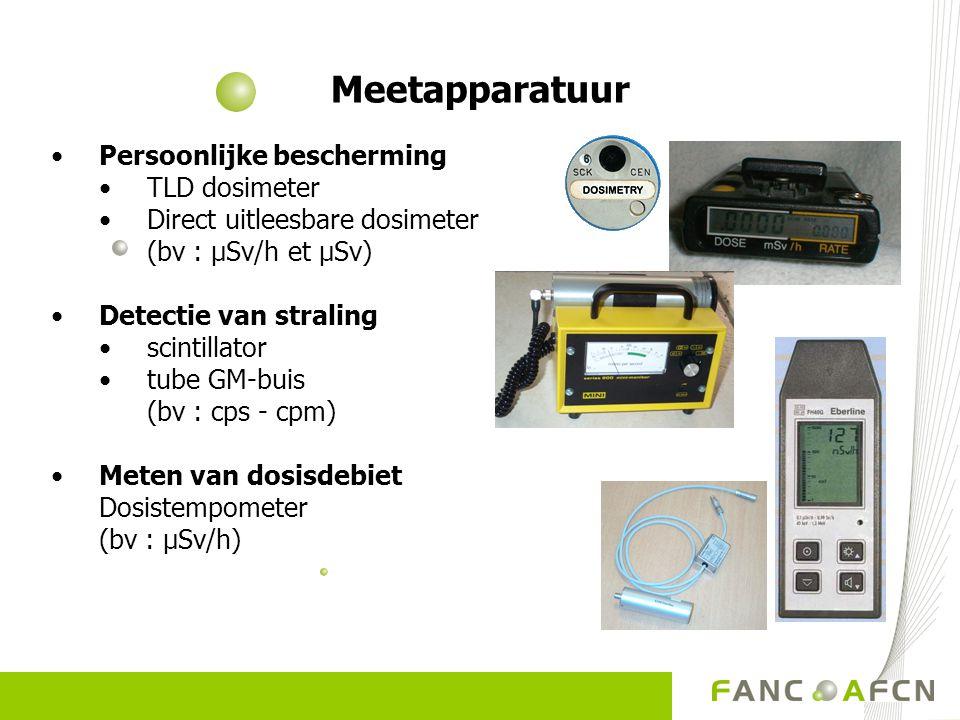 Meetapparatuur Persoonlijke bescherming TLD dosimeter
