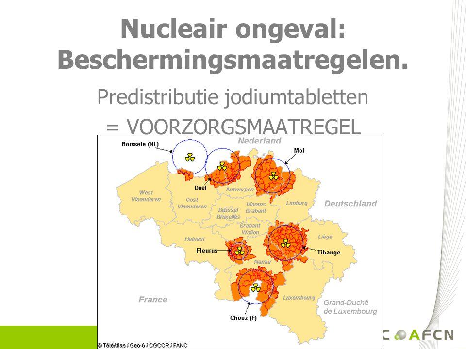 Nucleair ongeval: Beschermingsmaatregelen.