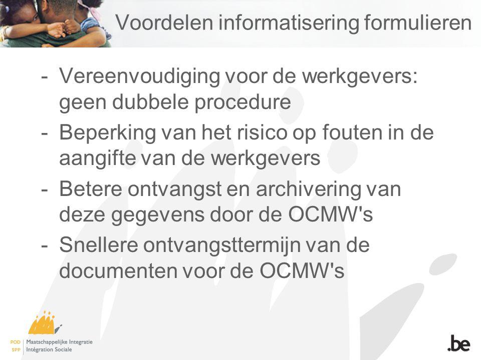 Voordelen informatisering formulieren