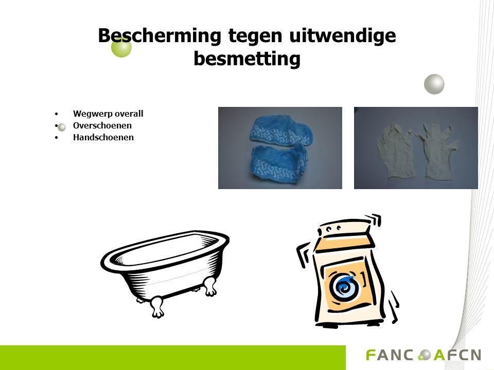 Bescherming tegen uitwendige besmetting
