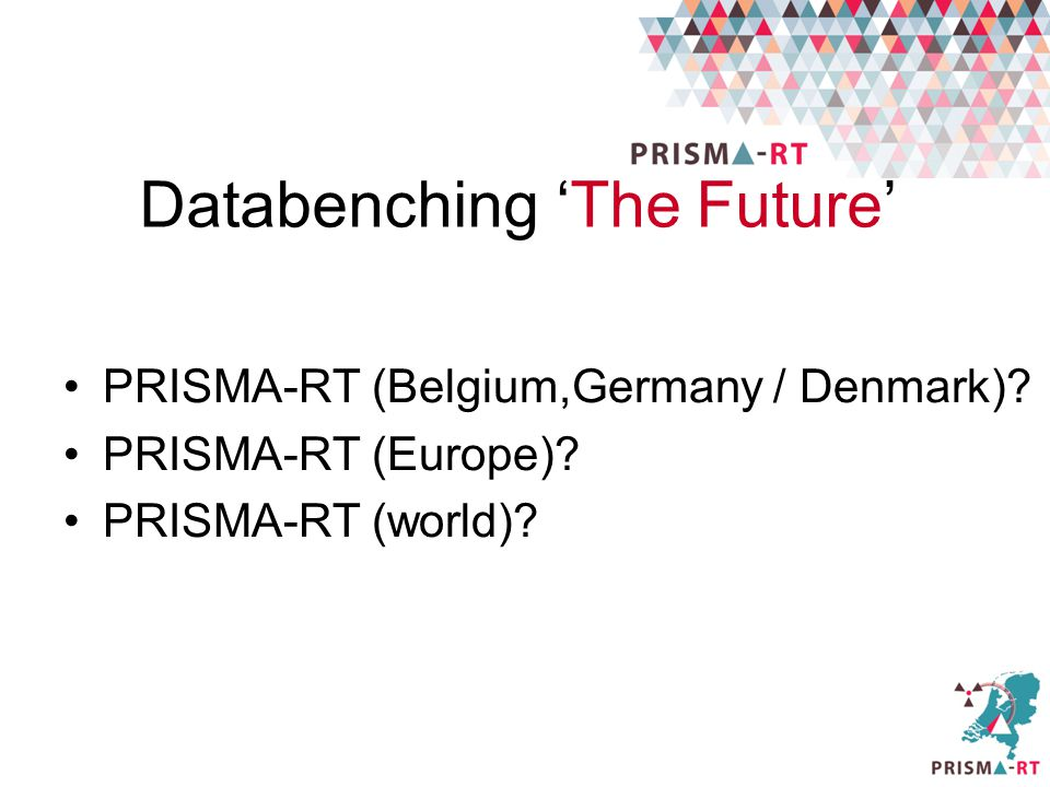 Databenching 'The Future'