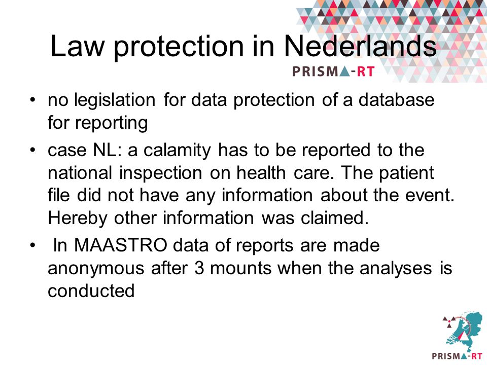 Law protection in Nederlands