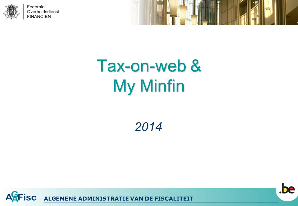 Tax-on-web & My Minfin 2014