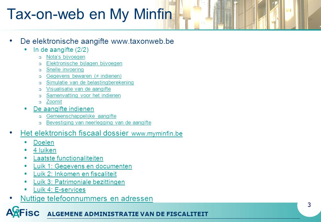 Tax-on-web en My Minfin