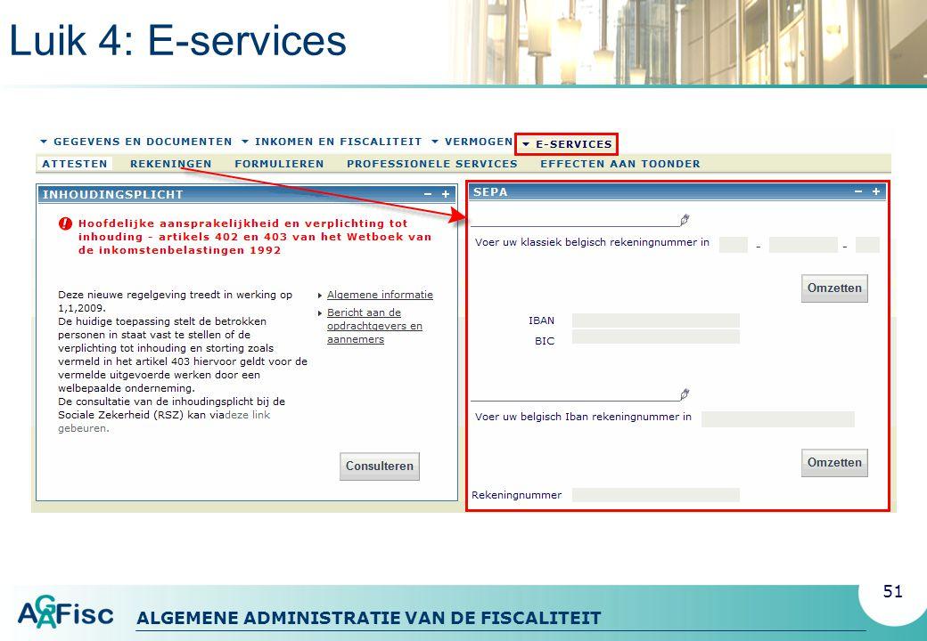 Luik 4: E-services