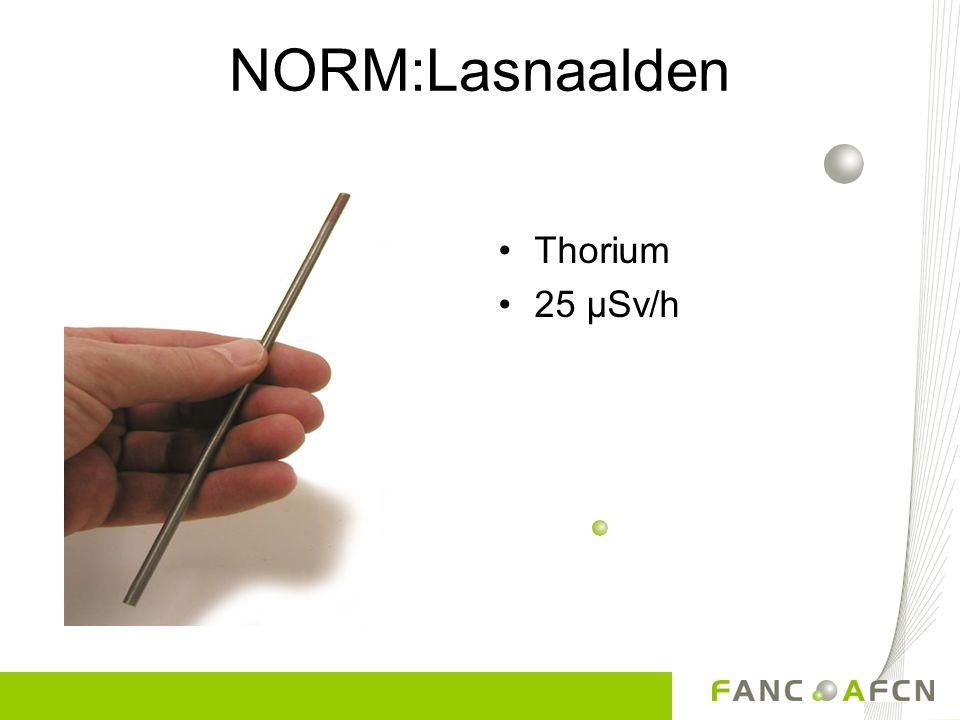NORM:Lasnaalden Thorium 25 µSv/h