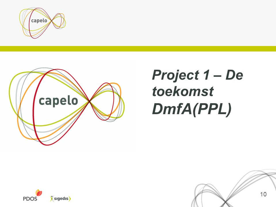 Project 1 – De toekomst DmfA(PPL)