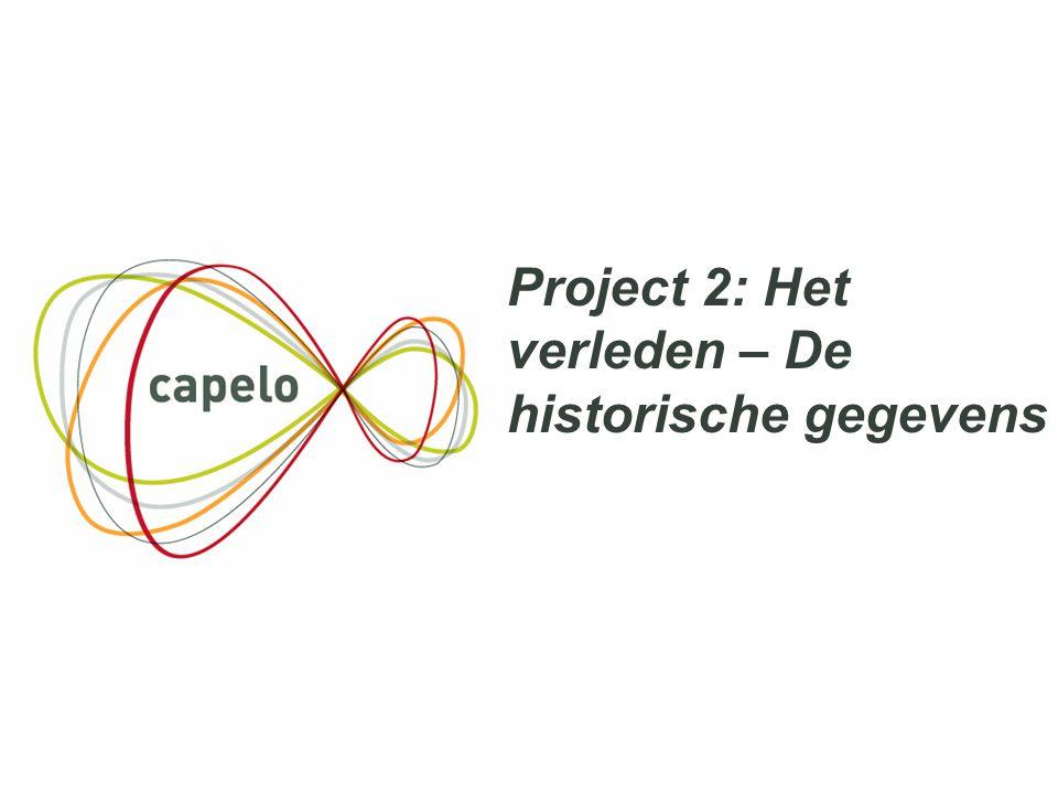 Project 2: Het verleden – De historische gegevens