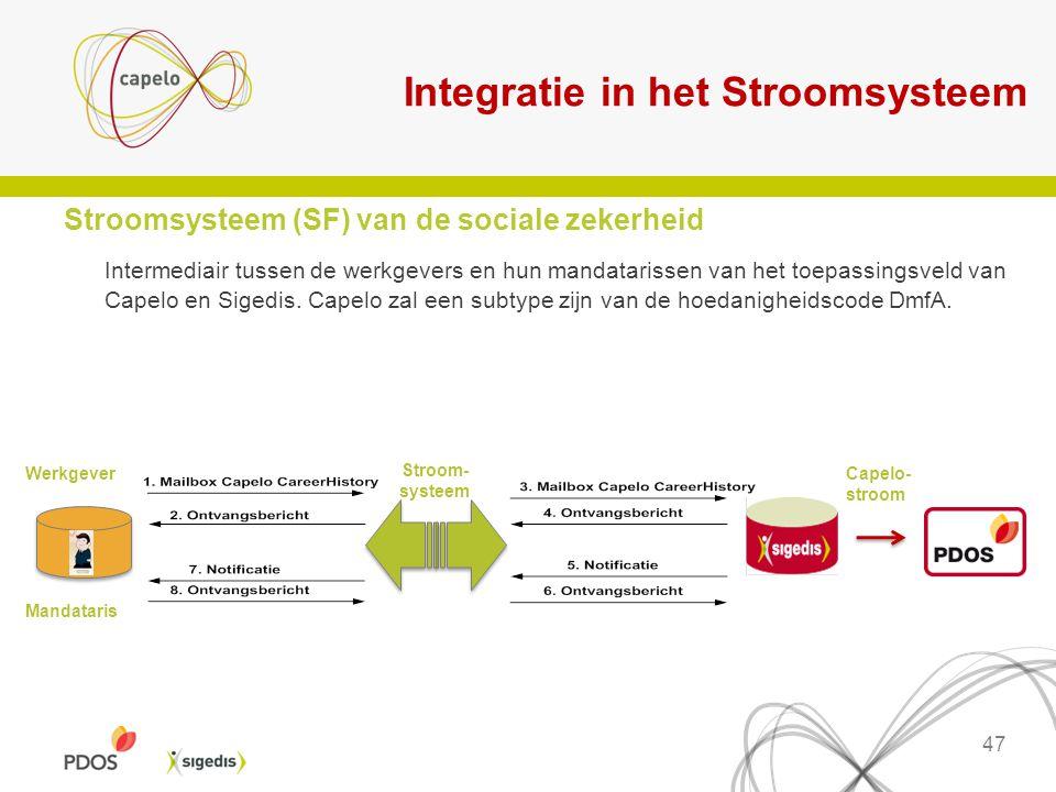Integratie in het Stroomsysteem