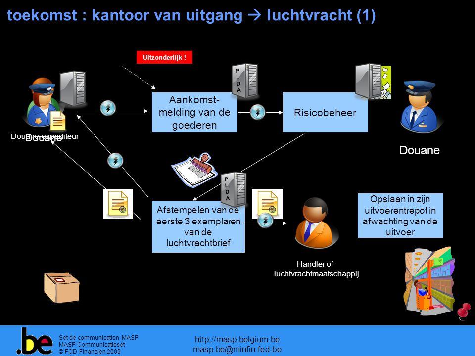 toekomst : kantoor van uitgang  luchtvracht (1)