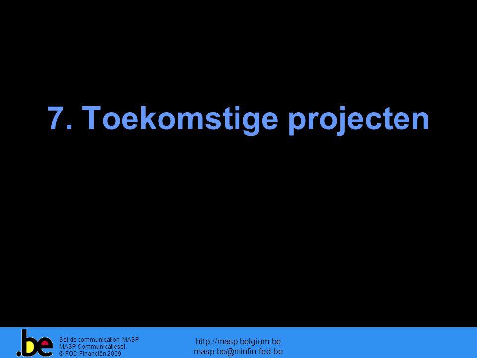 7. Toekomstige projecten