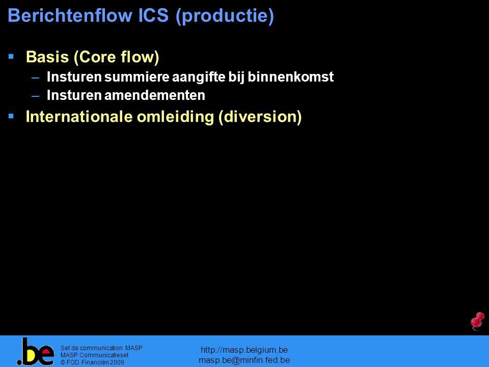 Berichtenflow ICS (productie)