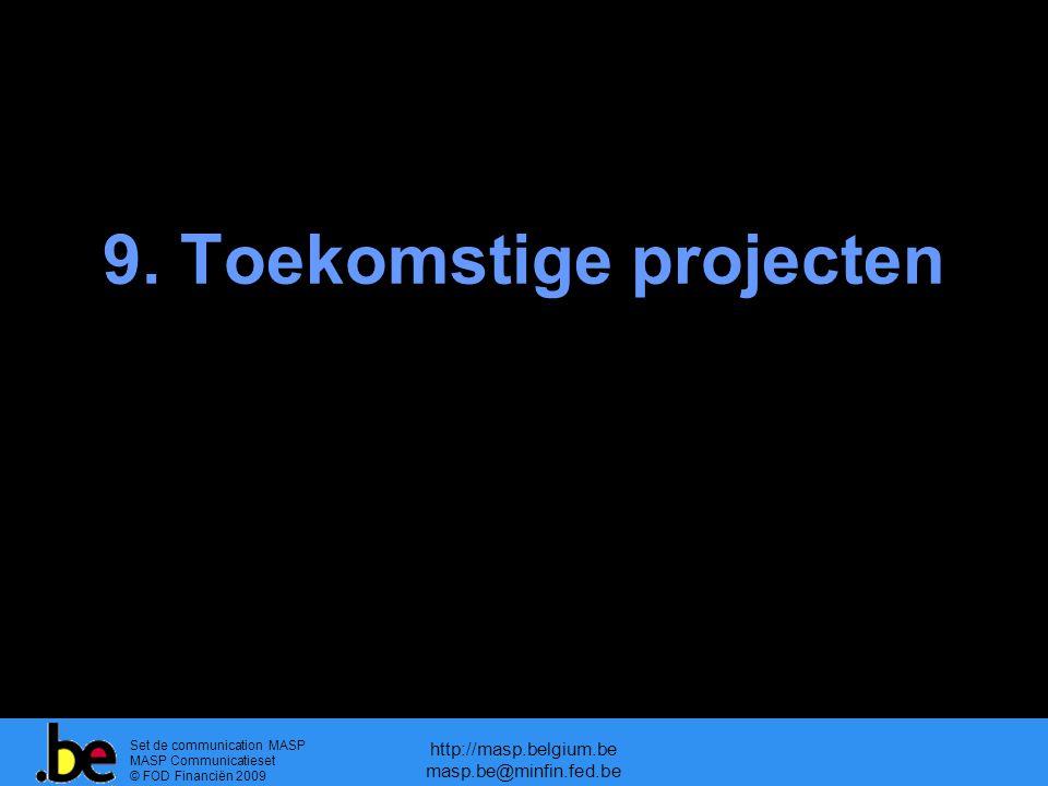 9. Toekomstige projecten