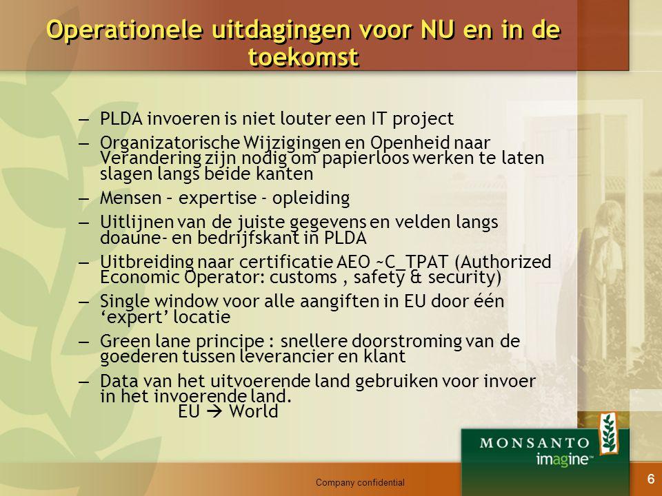 Operationele uitdagingen voor NU en in de toekomst