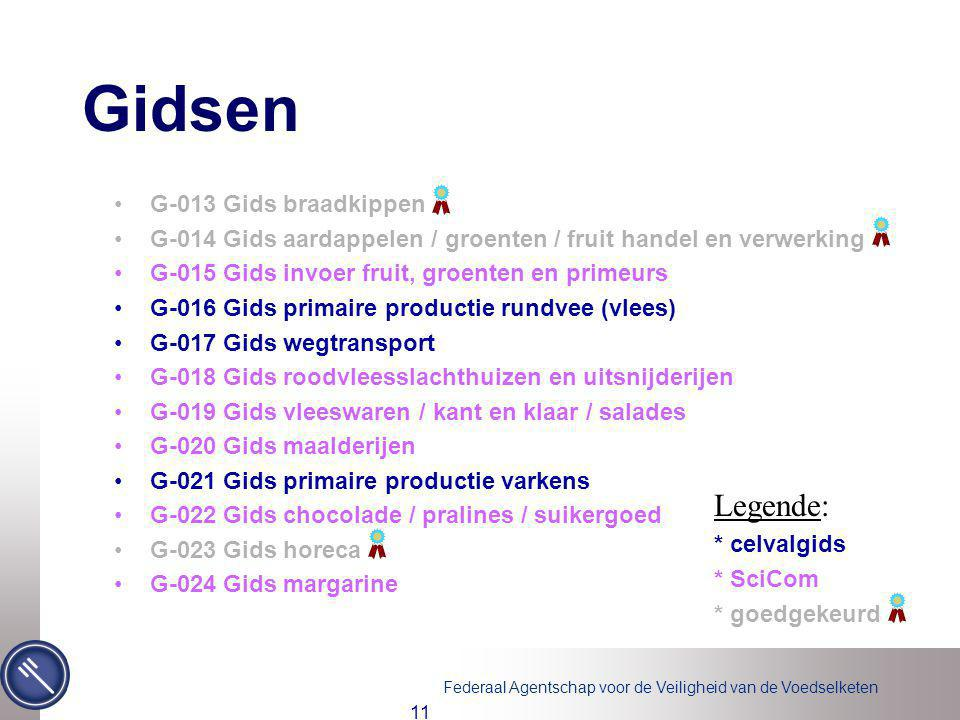 Gidsen Legende: G-013 Gids braadkippen