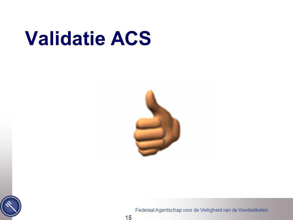 Validatie ACS