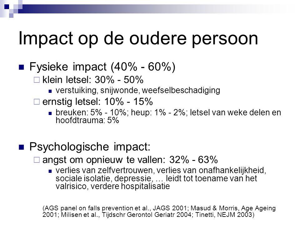 Impact op de oudere persoon