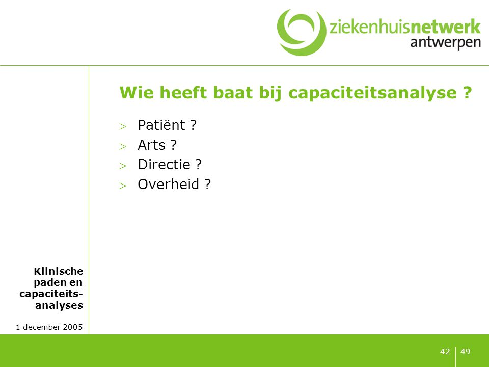 Patiënt Voordelen: Van aanbodgestuurde zorg naar vraaggestuurde zorg