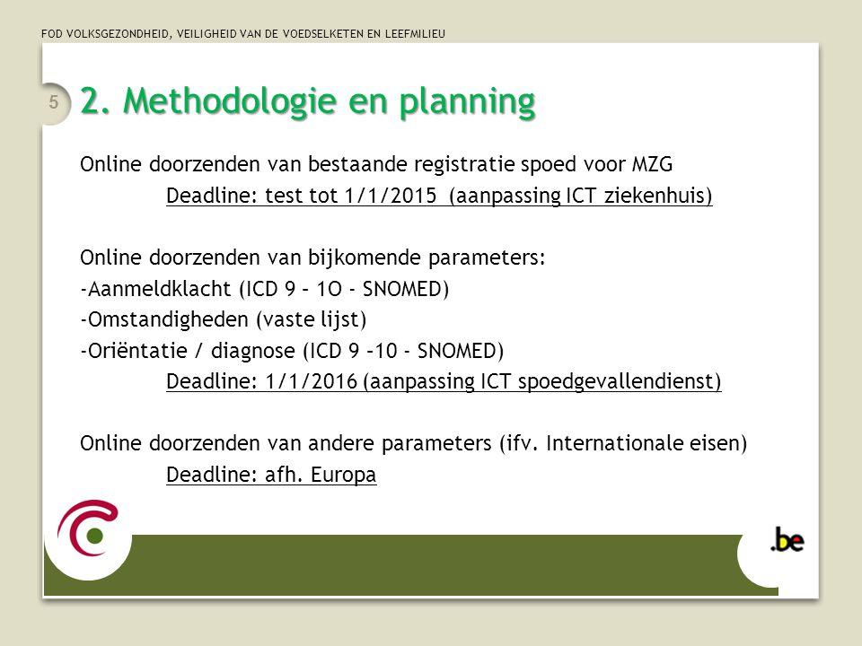2. Methodologie en planning