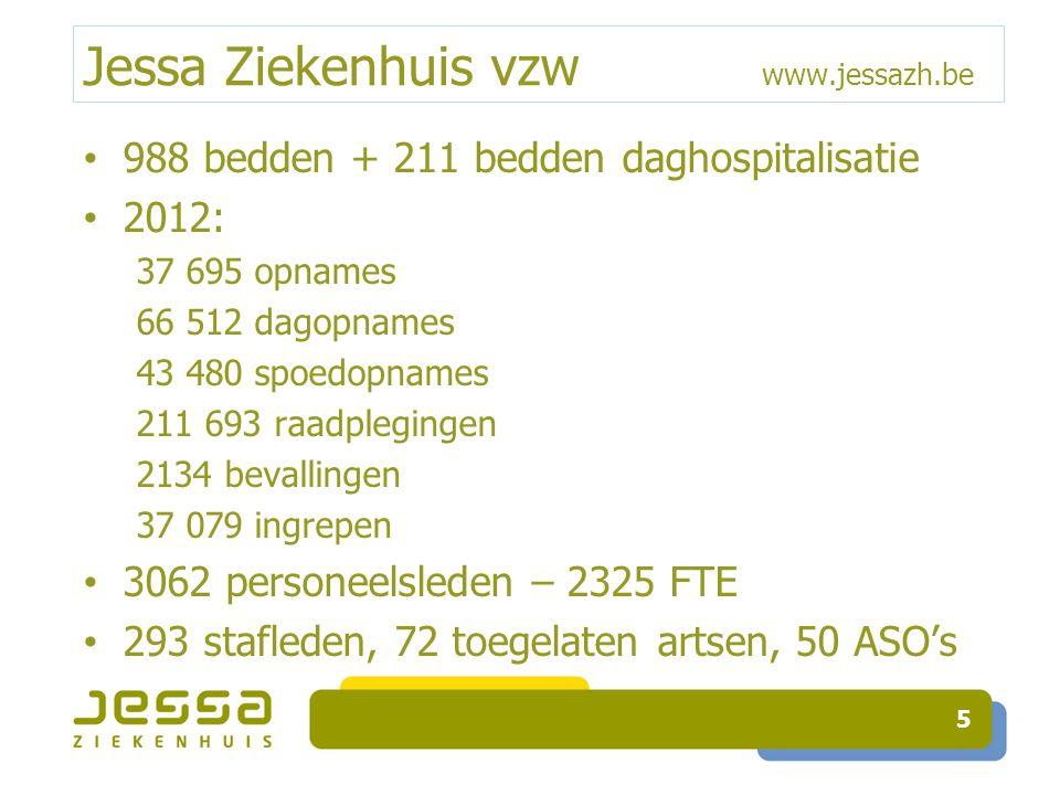 Jessa Ziekenhuis vzw www.jessazh.be