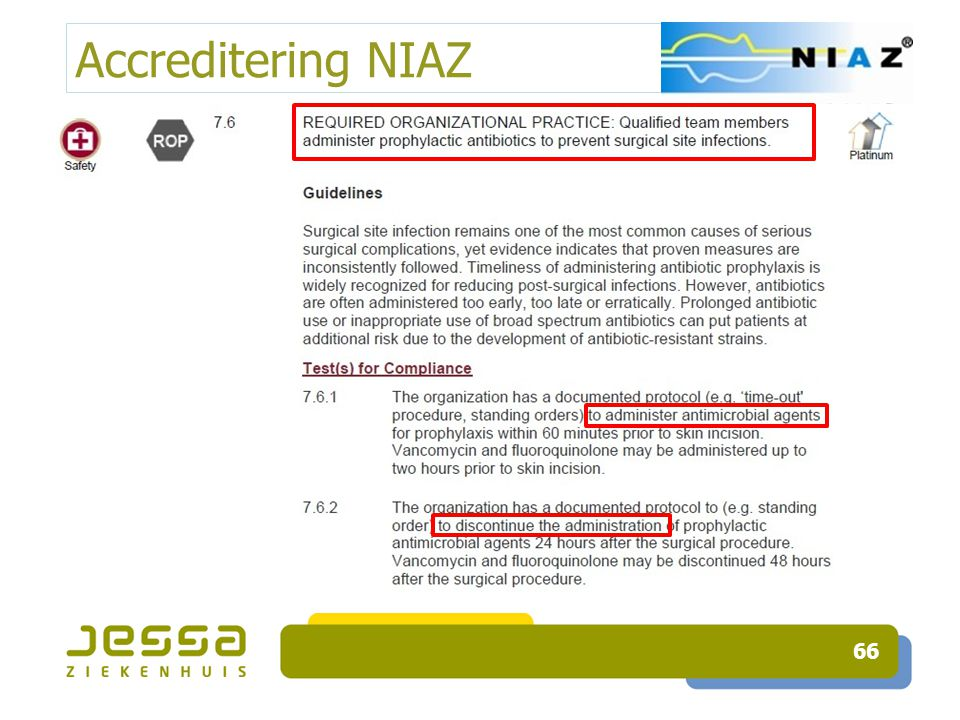 Accreditering NIAZ