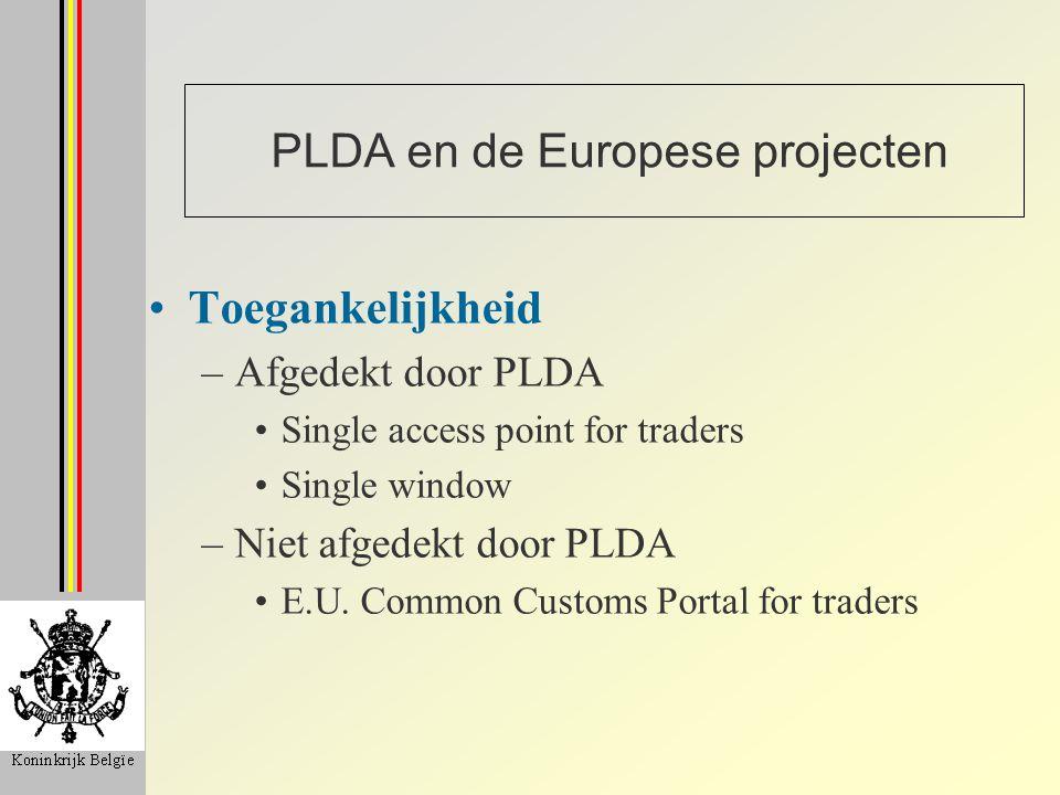 PLDA en de Europese projecten
