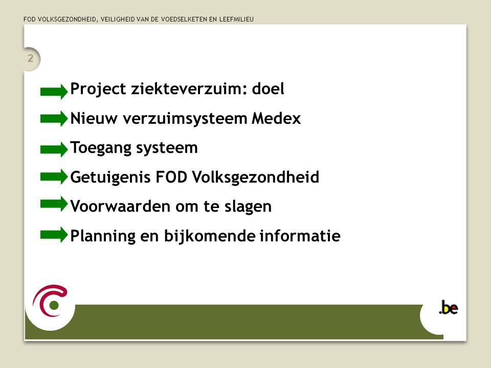 Project ziekteverzuim: doel