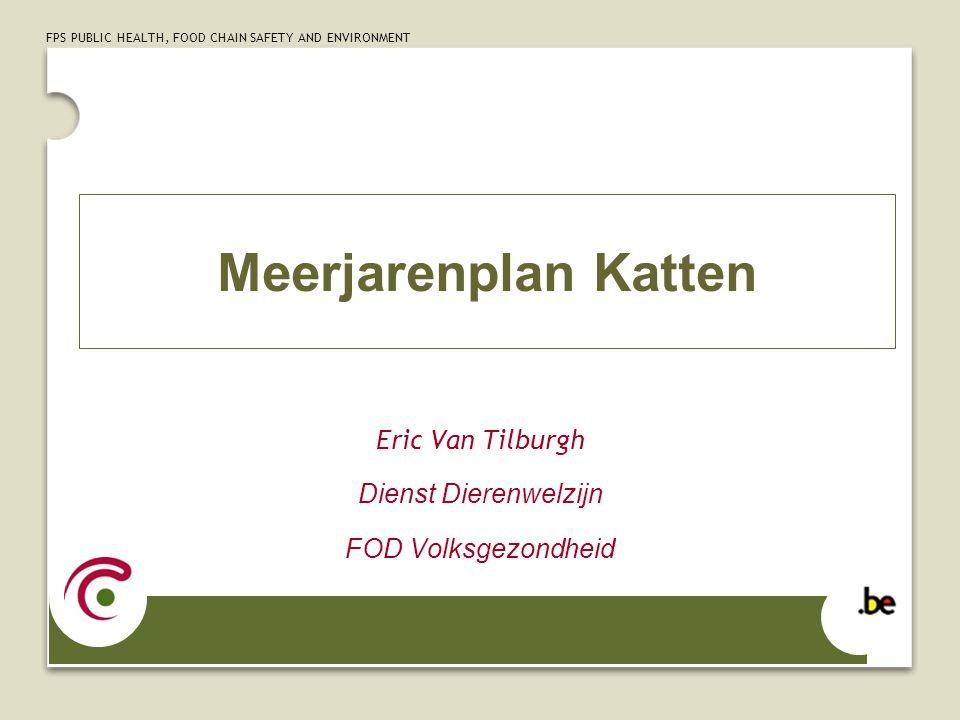 Eric Van Tilburgh Dienst Dierenwelzijn FOD Volksgezondheid