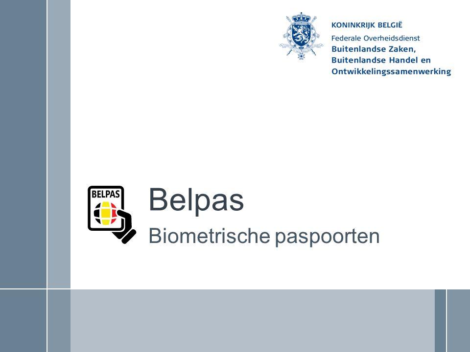 Biometrische paspoorten