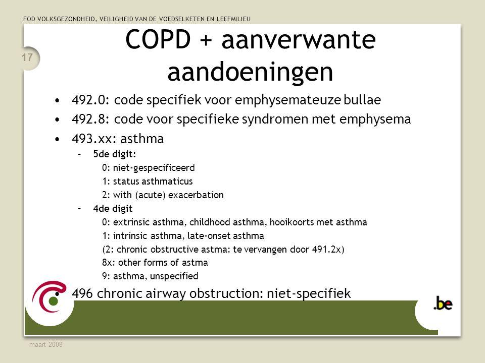 COPD + aanverwante aandoeningen