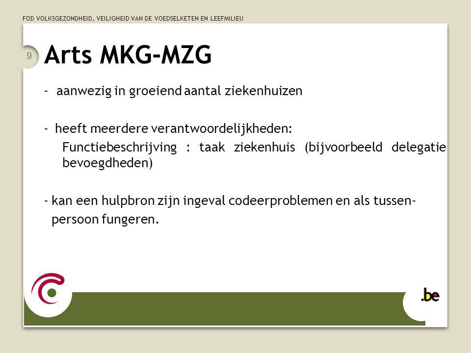 Arts MKG-MZG - aanwezig in groeiend aantal ziekenhuizen