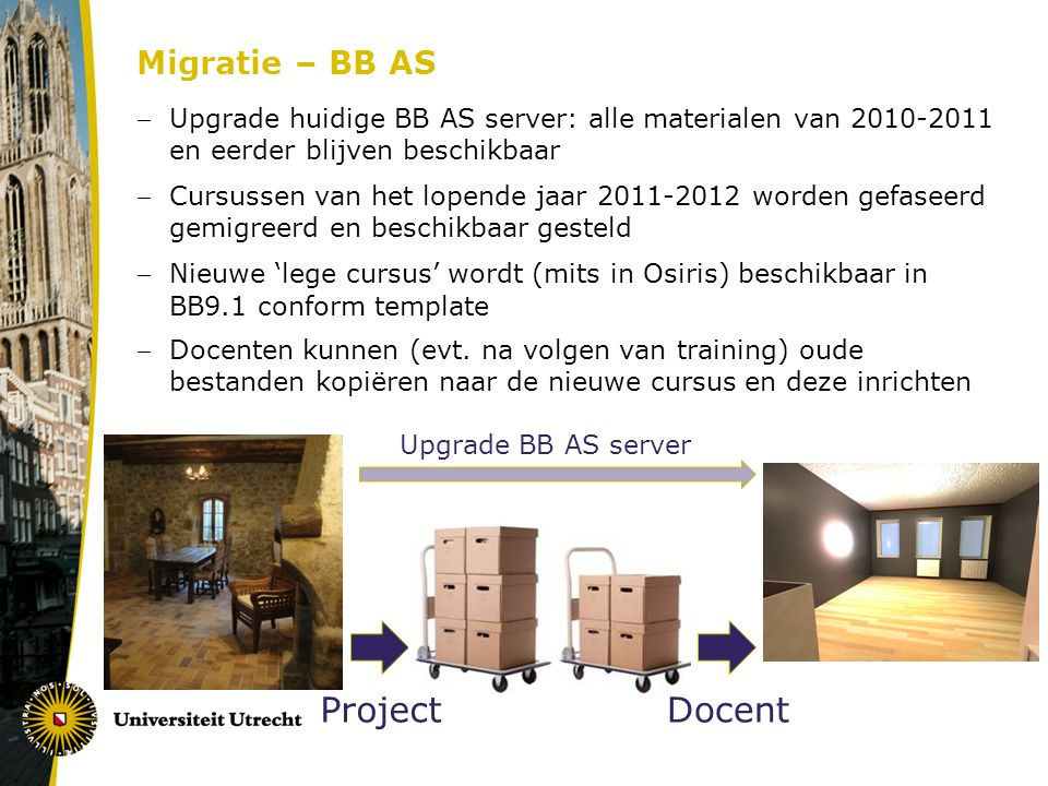 Project Docent Migratie – BB AS