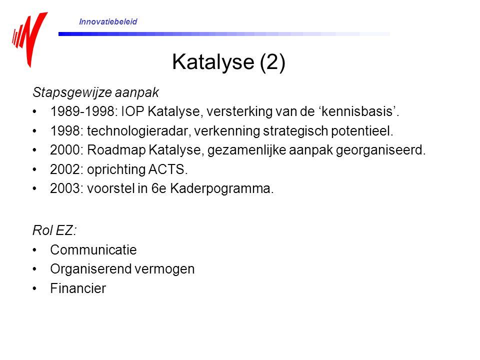Katalyse (2) Stapsgewijze aanpak