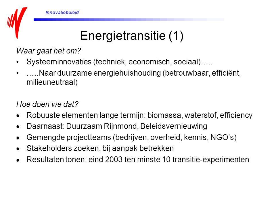 Energietransitie (1) Waar gaat het om